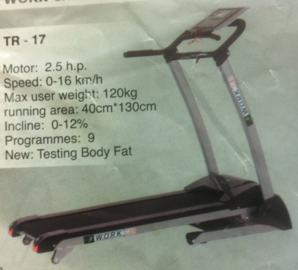 Health & Fitness in Beirut - For sale treadmill