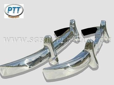 Car Parts & Accessories in Al Wardaniyeh - 1953-1959 Mercedes Benz 180/190 Ponton Bumpers