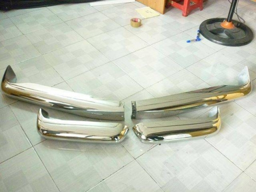 Car Parts & Accessories in Al Wardaniyeh - Mercedes Benz W113 Pagoda Stainless Steel Bumpers