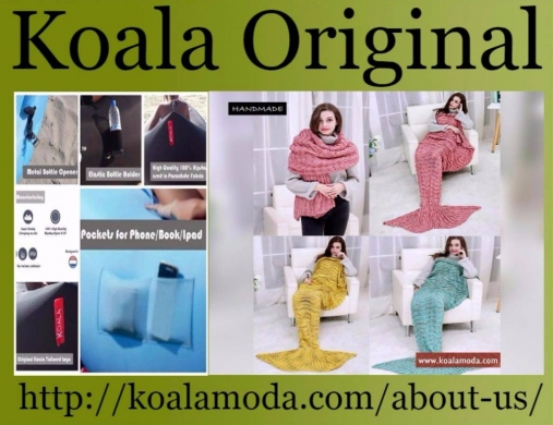 Clothes, Footwear & Accessories in Aghmid - Buy Stylish Koala Original Products-Mermaid Blanket, Laybed etc.