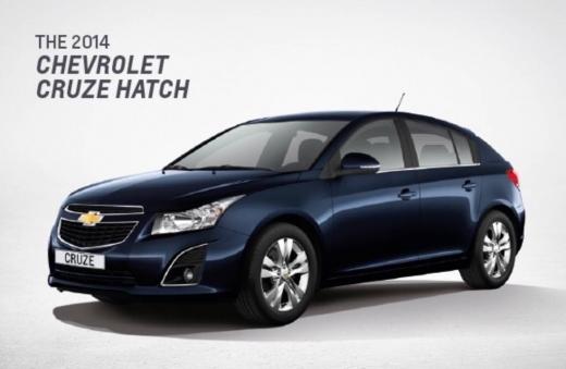 Chevrolet in Mansourieh - Chevrolet cruze hatchback 2014 black 2.0L 38000 km