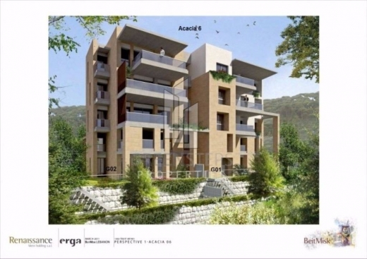 Apartments in Atchaneh - Apartment for sale in Beit Misk (Acacia 6)