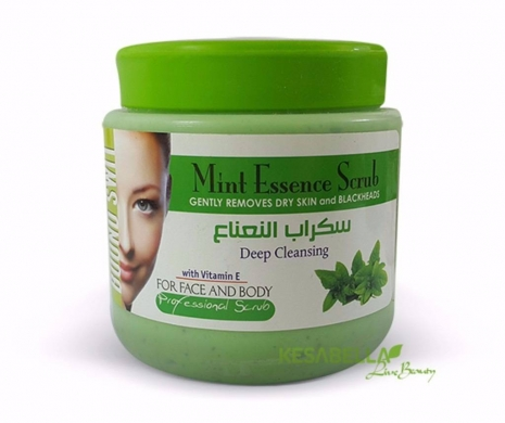 Facial Skin Care in Hamra - Mint Scrub