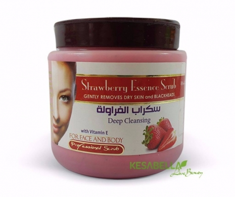 Facial Skin Care in Hamra - Strawberry Scrub