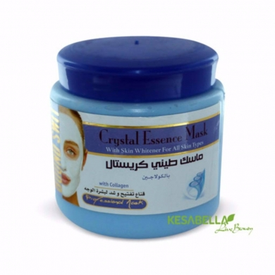 Facial Skin Care in Hamra - Crystal Mud Mask with Collagen
