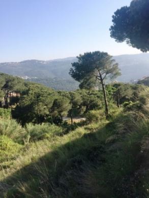 Land in Mount Lebanon - Ag-836-17 Broumana Al Ouyoun Land for sale
