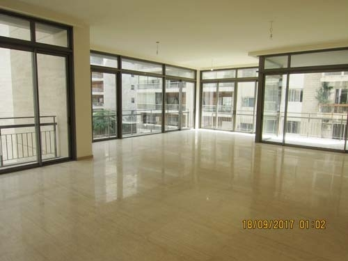 Apartment in Beirut - 350sqm Modern Unfurnished Apartment for rent Abdel Wahab Achrafieh 45,000$/year