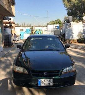 Honda in Beirut - 1998 Honda Accord EX full options