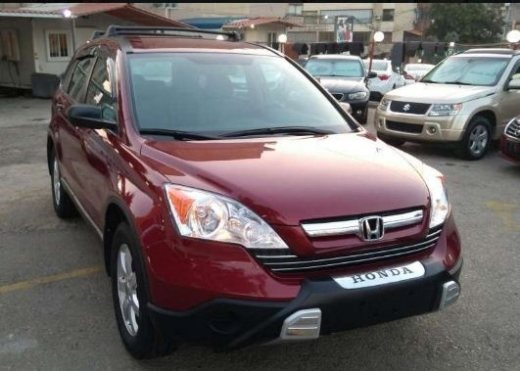 Honda in Beirut - Cr-v 2009 LX 4x4 bordeaux on dark grey extra clean for sale