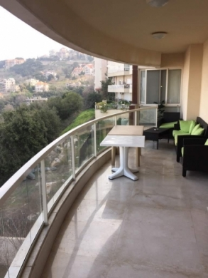 Apartment in Mount Lebanon - Apartment With Terrace For Sale In Ain Saadeh Sky578
