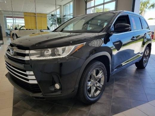 Toyota in Ebl Saki - 2017 Toyota Highlander Hybrid LE