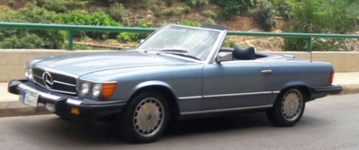 Mercedes-Benz in Hazmieh - 79 mercedes 450sl for sale