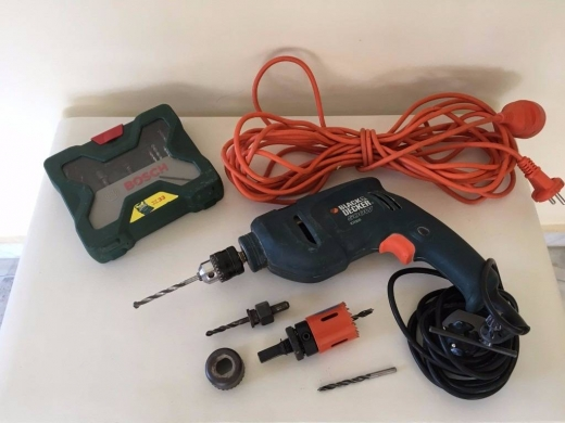 DIY Tools & Materials in Fanar - Drill - Black