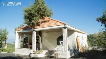 Country Houses in Mount Lebanon - Villa in Mechmech -300sqm+1160sqm land |PLS23586