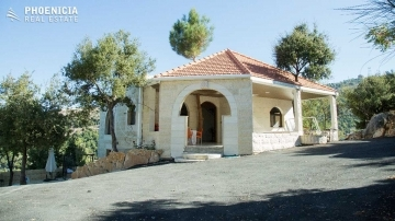 Country Houses in Mount Lebanon - Villa in Mechmech-270sqm+830sqm land|PLS23587