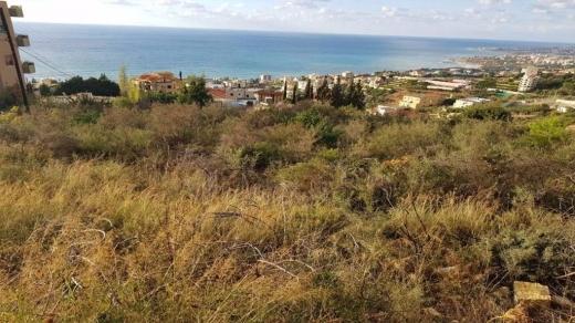 Land in Fidar - Land for Sale Fidar ( Halat ) Jbeil Area 689Sqm