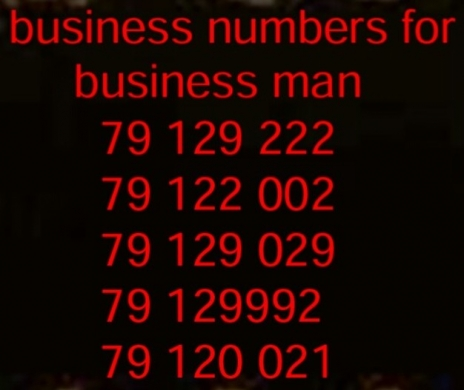 Special Numbers in Hazmiyeh - Business numbers for special business man