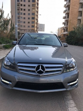 Mercedes-Benz in Sahat Al Nour - Mercedes C 300 - 2013 Look AMG only 46k miles
