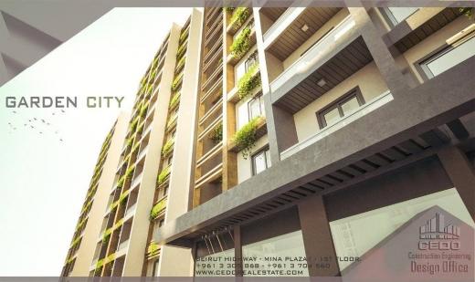 """Apartment in Mina - إشتري شقتك في مشروع """" الغاردن سيتي """" في طرابلس"""