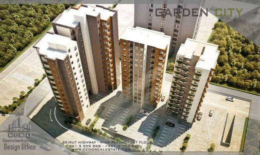 Apartment in Mina - APARTMENTS FOR SALE IN TRIPOLI / شقق فخمه للبيع في الغاردن سيتي