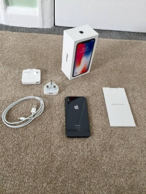 Phones, Mobile Phones & Telecoms in Ain Zebdeh - SELLING Apple iPhone X 256GB ORIGINAL Brand New Phone