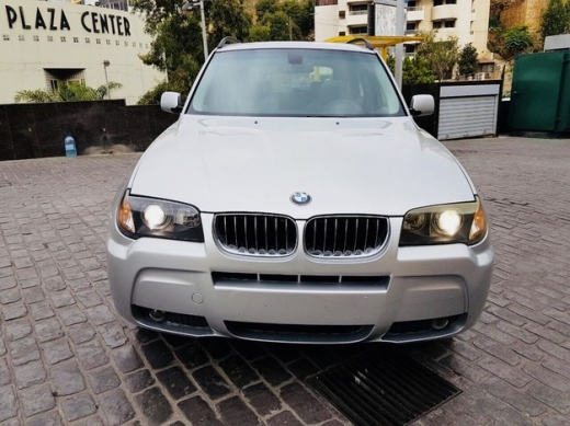 BMW in Antilias - BMW X3 mod 2006 look M