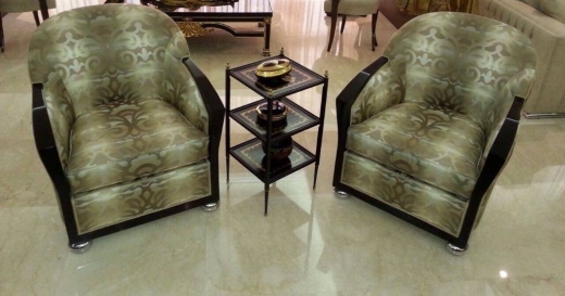 Tableware in Achrafieh - SMALL COFFEE TABLE-HAND PAINTED BLACK COLOR