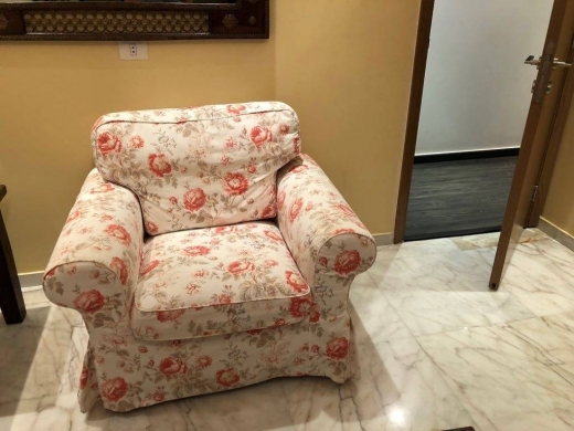Sofas, Armchairs & Suites in Mar Elias - Three Seats and one Seat IKEA EKTORP like new and rarely used for sale.