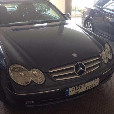 Mercedes-Benz in Jal el-Dib - Mercedes CLK 240 Mod2003 Super Clean