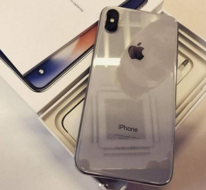 Apple iPhone in Achrafieh - Apple iPhone X 64GB Silver unboxing Whatsapp  1(470)287-0431