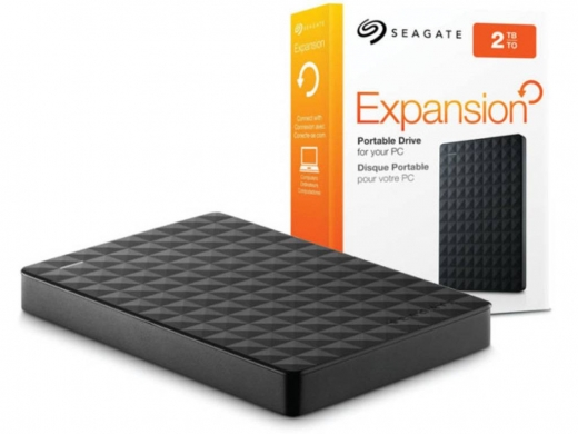 Hard Drives & External Drives in Baouchriye - Brand New Seagate Portable External Hard Drive 2TB Black