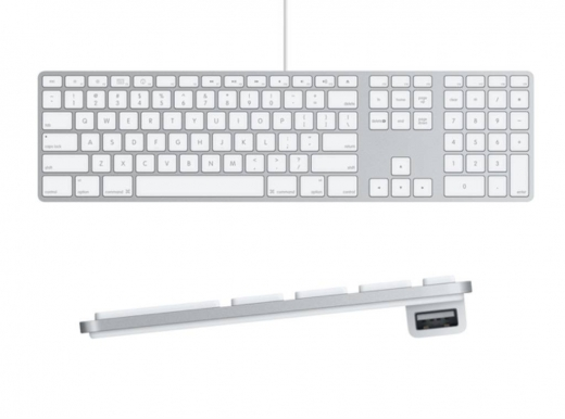 Keyboard & Mouse Bundles in Baouchriye - Wired Apple Keyboard with Numeric Keypad   Wireless Apple Magic Mouse