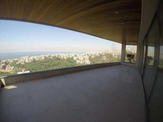 Apartment in Mtaileb - Panoramic View Apartment for rent in Rabieh FC8080