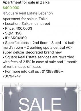 Apartment in Zalka - apartment for sale in zalka