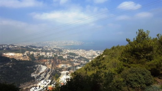 Land in Jounieh - Land for Sale at Rabweh Main Road Surface 1.388m2