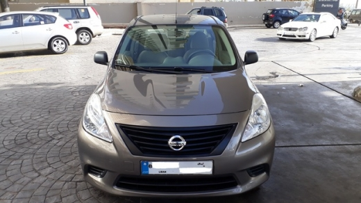 Nissan in Ras-Beyrouth - Nissan Sunny Model 2014 Full Automatic ABS Airbags