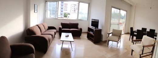 Apartment in Sin El Fil - 3bdr apartment for rent in Horsh Tabet facing an open green space