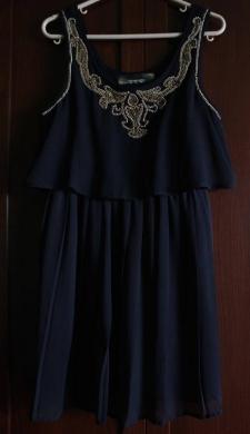 Dresses in Mkalles - Black dress with Gold details