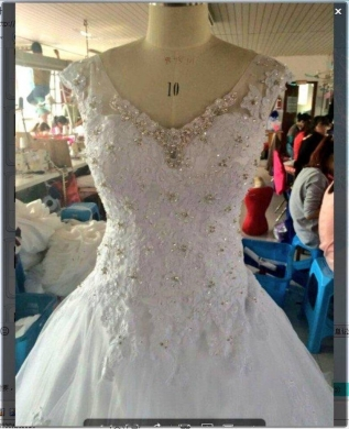 Wedding Dresses in Sour - New wedding Dress for sale_فستان عرس جديد للبيع