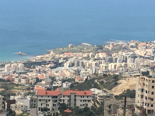 Land in Sodeco - For sale Land in Mastita Jbeil unblockable full sea view