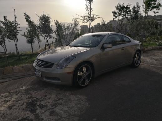 Infiniti in Chiyah - Infiniti G35 Coupe 2003