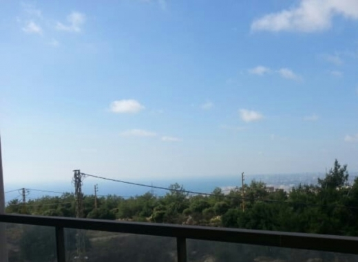 Apartment in Aramoun - شقق للبيع مشروع مطل عالبحر في عرمون تقسيط