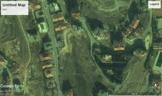 Land in Ksara - ksara land villa zoning with open view