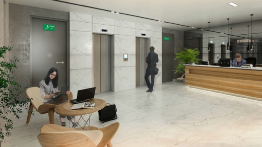Office Space in Dbayeh - Under Construction Office For Sale on Dbayeh Highway