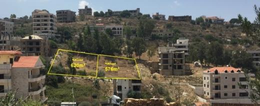 Land in Ain Jdideh - أرض للبيع 576 متر مربع عين الجديده