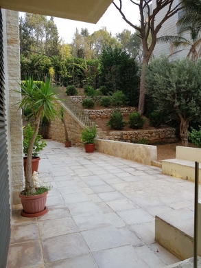 Apartment in Bsalim - Furnished Apartment with Terrace for Rent in Bsalim