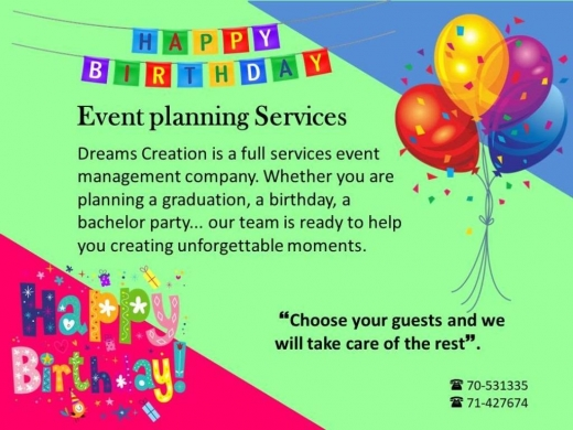 Other Entertainment Services in Naccache - Event Planning Services