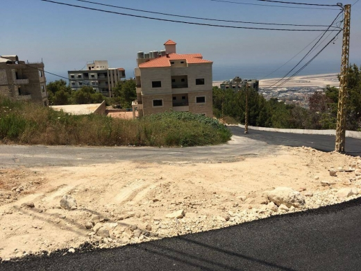 Land in Choueifat - Mountain Seaview land for sale in Choueifat