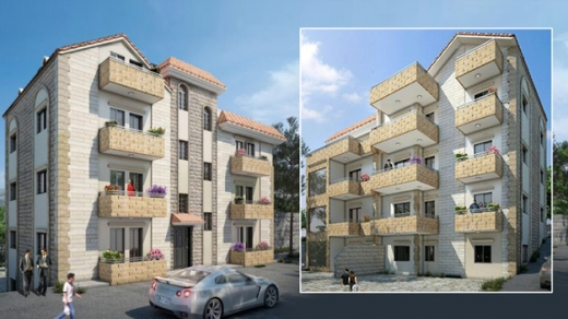 Apartment in Blat - Apartment In Mastita Blat for sale under construction 3 bed