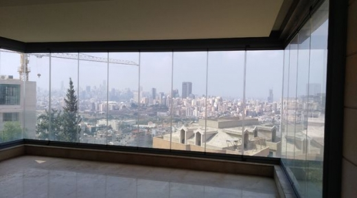 Apartment in Hazmieh - hazmieh luxurious new apartment with sea view